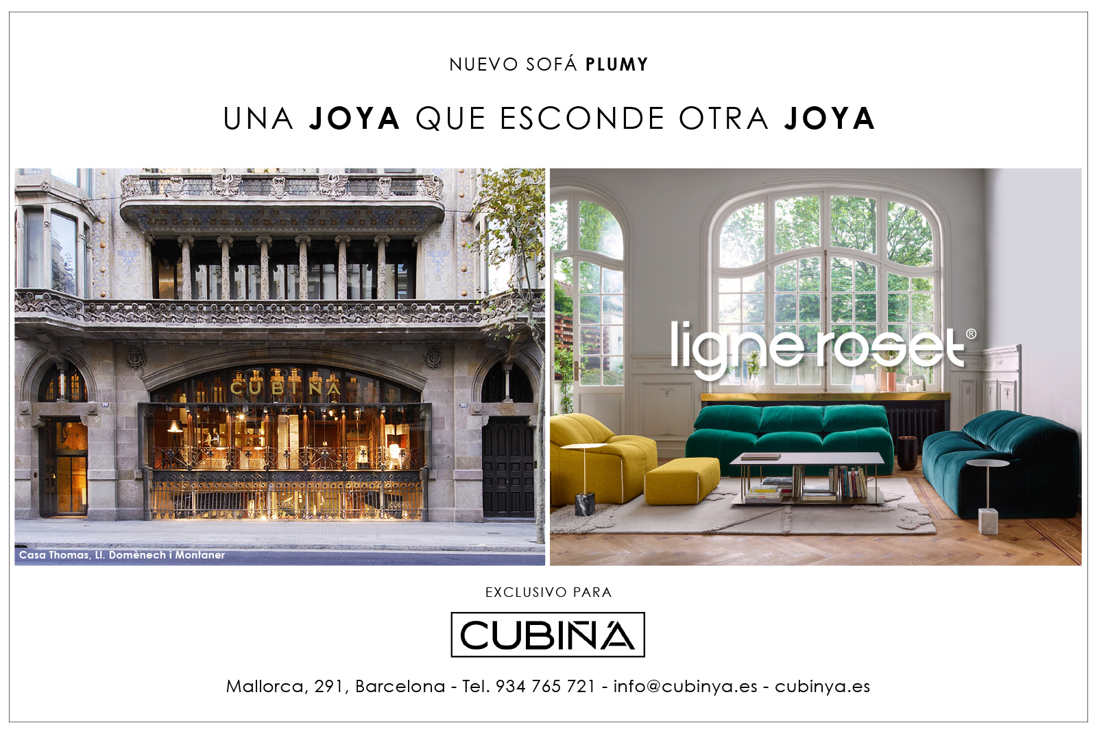 Arquitectura interiorismo y construcci n la vanguardia - Cubina barcelona ...