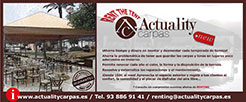 Actuality carpas - Rent the tent