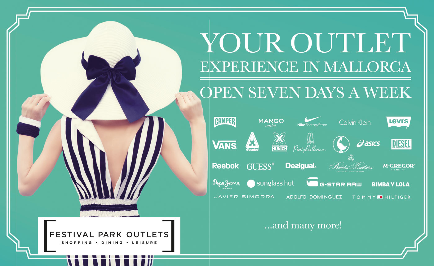 Your Outlet - Experience in Mallorca - Open seven days a week
