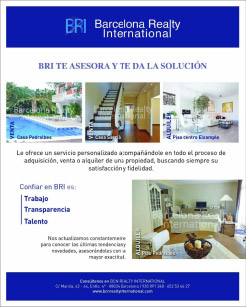 Barcelona Realty International - Te asesora y te da la solución