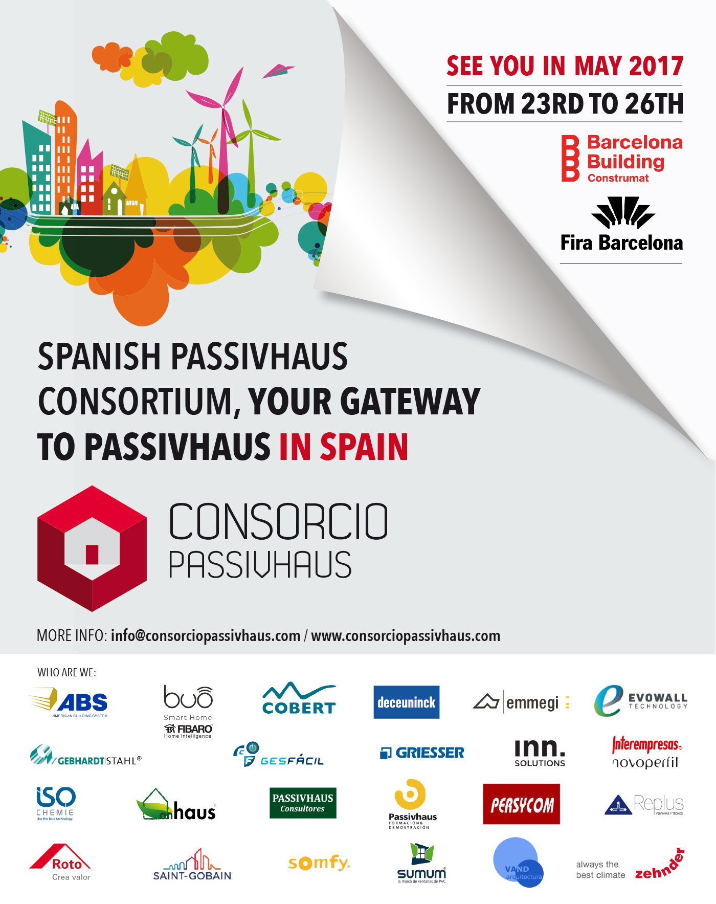 SPANISH PASSIVHAUS CONSORTIUM, YOUR GATEWAY TO PASSIVHAUS IN SPAIN