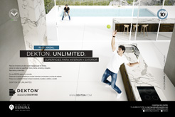 Dekton by Cosentino. Unlimited. Superficies para interior y exterior
