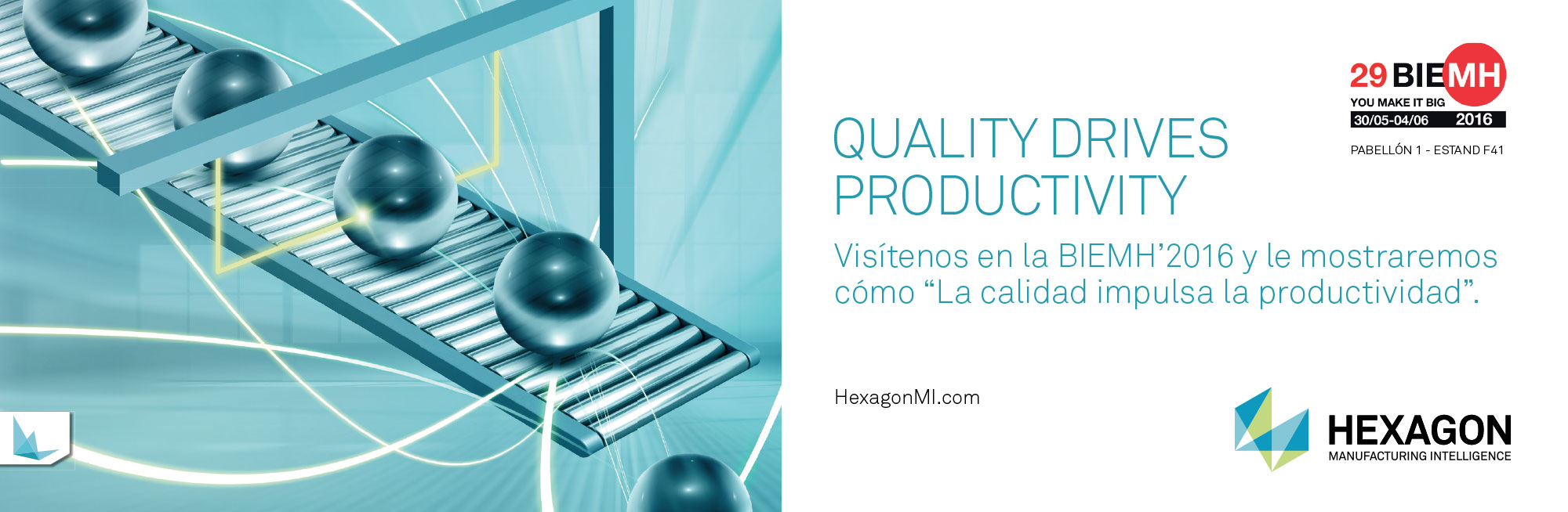 Hexagon - Quality drives productivity